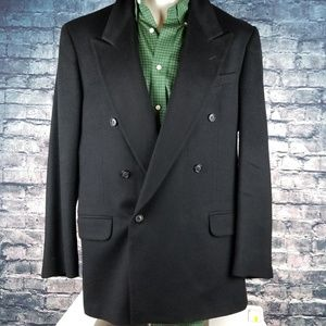 Macy's Suits & Blazers - Macy's Club Room Camel Hair Jacket 42L Black